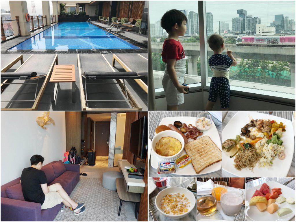 【曼谷飯店推薦】蘭開斯特飯店Lancaster Bangkok。新開幕、高質感、近機場快線、地點佳、適合家庭親子旅遊的住宿!