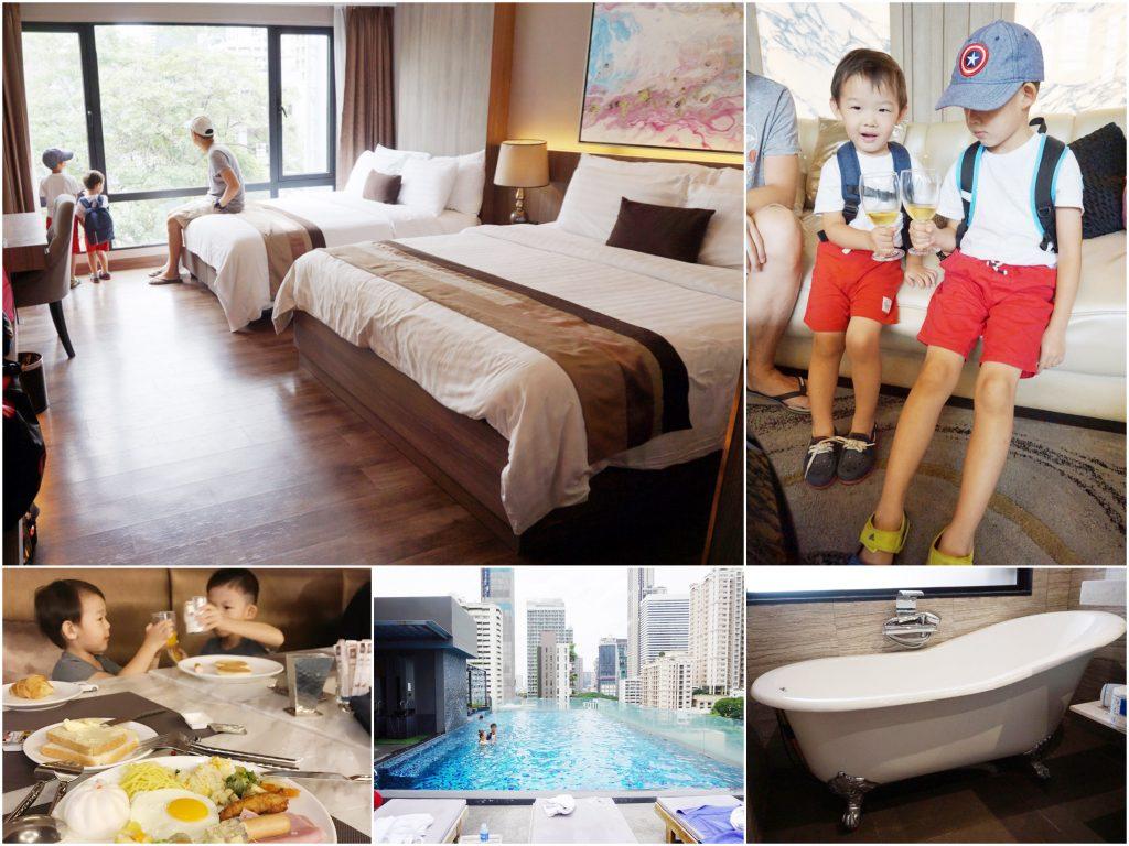 【曼谷飯店推薦】阿特飯店Arte Hotel。高CP值、交通便利、近T21百貨(BTS Asok站/MRT Sukhumvit)的家庭親子友善飯店!