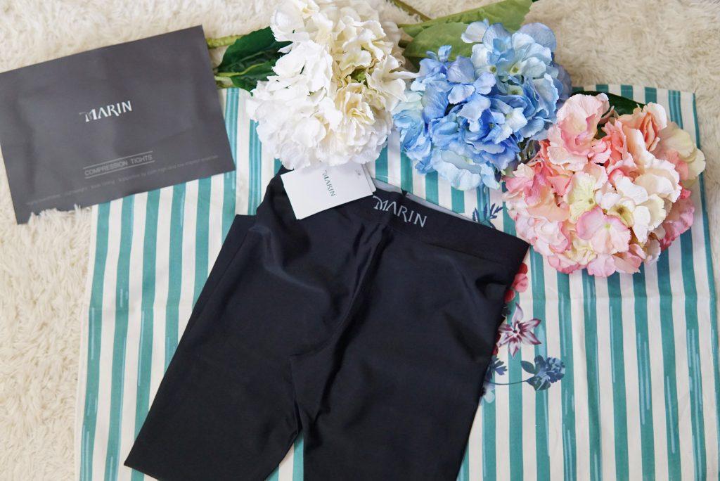 【壓力褲推薦】MARIN輕塑日著壓力褲開箱。顯瘦好穿的運動褲!