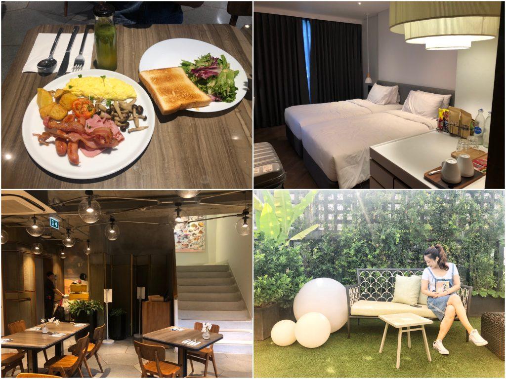 【曼谷飯店推薦】曼谷沃爾維飯店 Volve Hotel Bangkok。BTS通羅站附近質感文青風、拍網美照IG打卡都適合的熱門好評飯店!