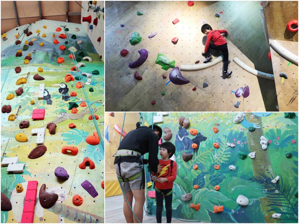 【親子運動】原岩攀岩館親子體驗課程T-UP Climbing Gym-Yangmei(楊梅店)