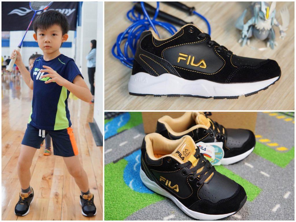 【童鞋推薦分享】FILA Kids 兒童機能運動鞋(足弓支撐鞋墊)新鞋開箱!