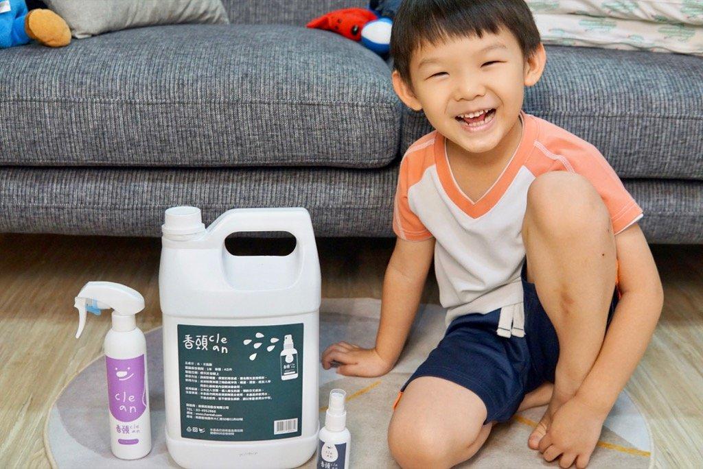 超可愛的Chantail香頭寶寶抑菌噴霧推薦|抗菌液、霧化機限時優惠團購!