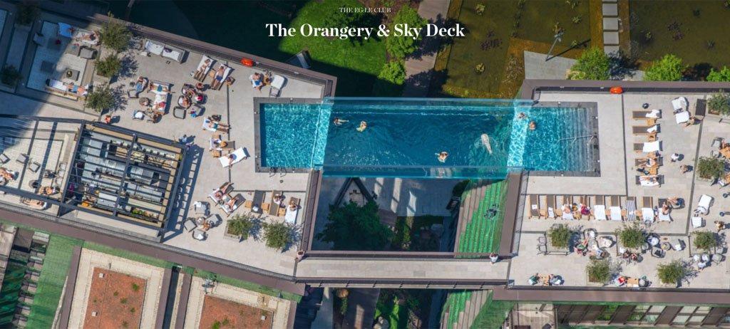 【旅遊筆記】英國倫敦景點|全球第一座透明空中泳池(漂浮泳池) Embassy Gardens The Sky Pool