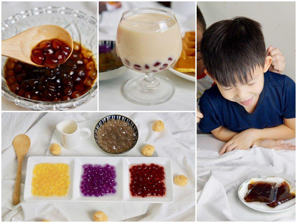 自然小島即時纖Q珍珠|小孩可以一起吃的健康美味!零防腐劑、零化學色素、添加L-阿拉伯糖的減糖快煮珍珠推薦!