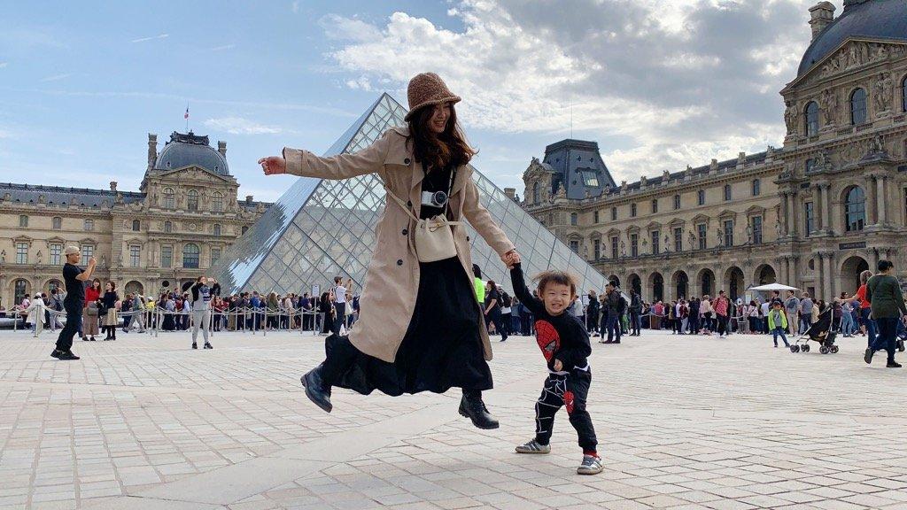 媽咪心情・滿滿幸福感,終於把孩子們都送去學校了!