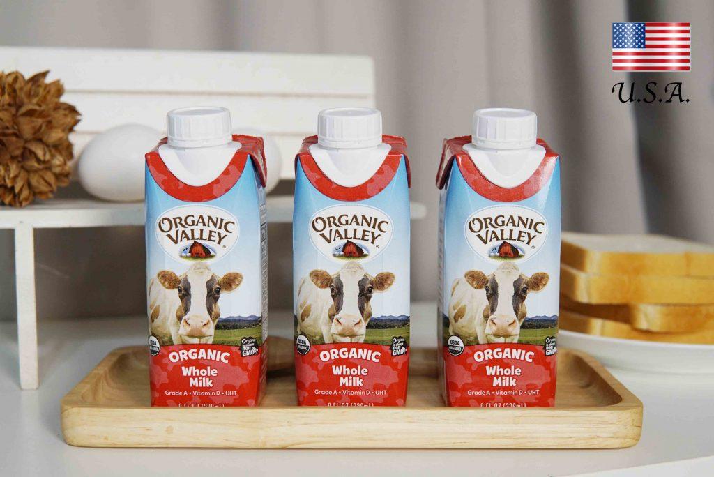Budwig 布緯の牧場 Organic Valley 有機強化牛奶|小孩早餐必備!含維生素D、強化鈣質更營養!